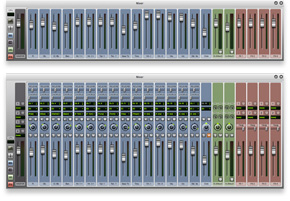Redesigned Mixer of sibelius 7